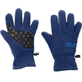 Jack Wolfskin Fleece Gloves - Gants Enfant - bleu